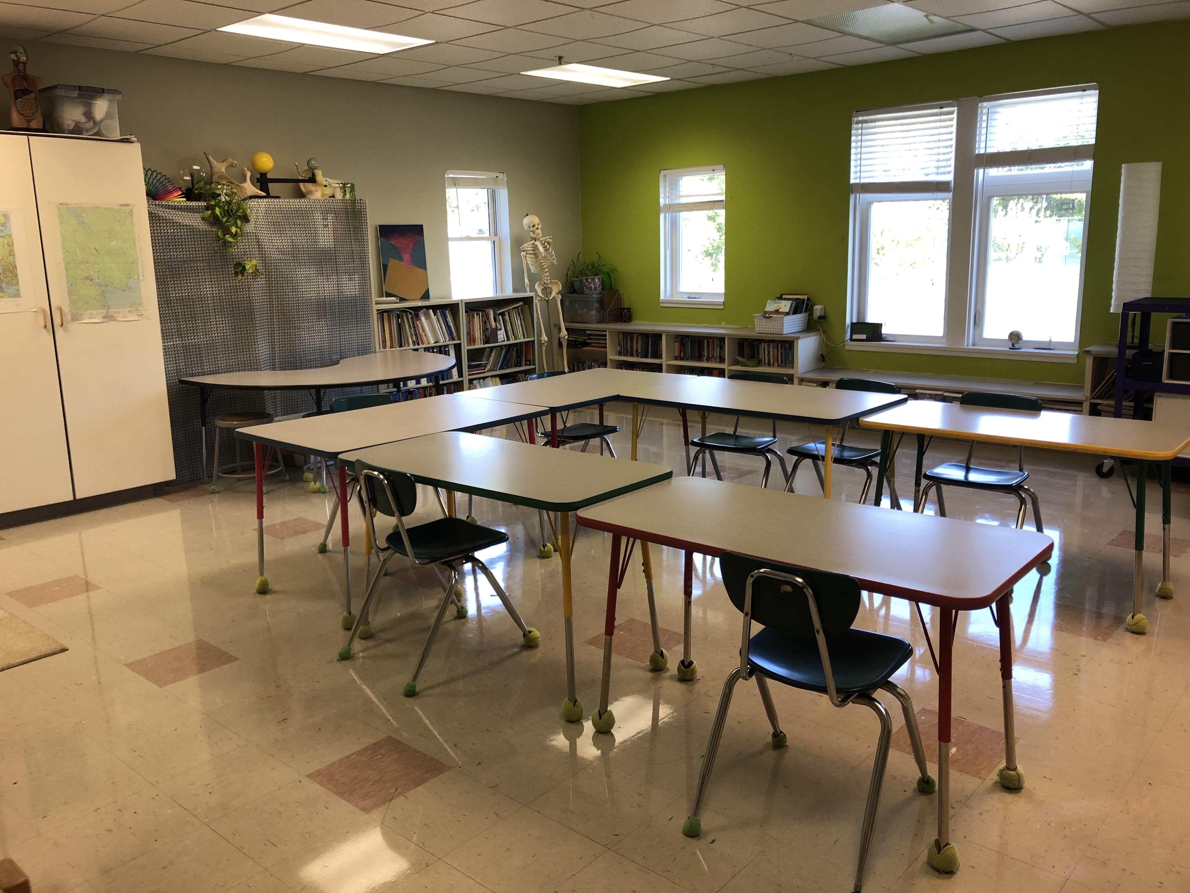 Photo of 5/6 classroom