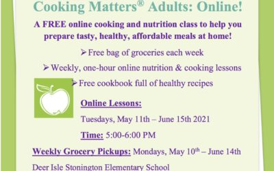 Free Cooking Class and Groceries!